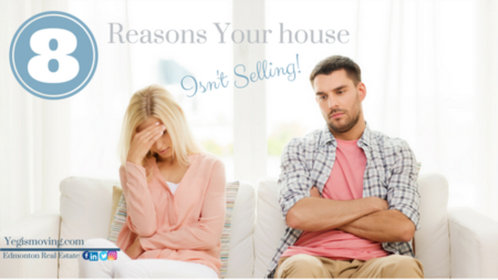8 Reasons Your House Isn't Selling