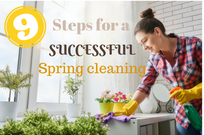 9 Steps For Successful Spring Cleaning