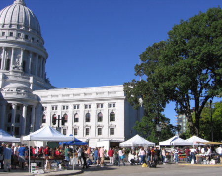 Top 3 Farmers' Markets Found Near Madison, WI