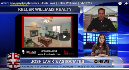 WI57 | The Real Estate News | Josh Lavik | Keller Williams | 04/12/17