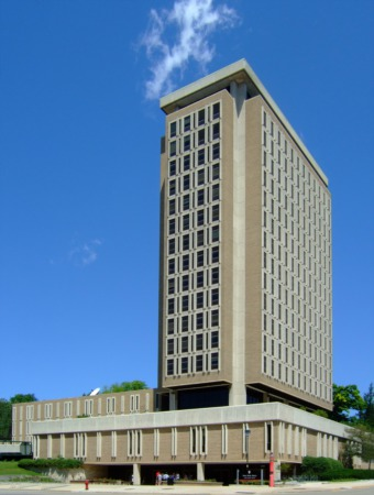 Which Madison, WI Buildings are the Tallest?
