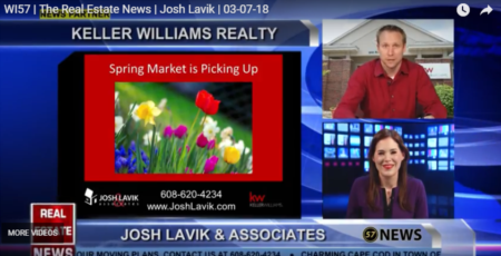 WI57 | The Real Estate News | Josh Lavik | Keller Williams |3/7/2018