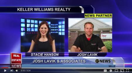 WI57 | The Real Estate News | Josh Lavik | Keller Williams |5/16/2018