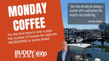 Monday Coffee - Market Shifting In these areas