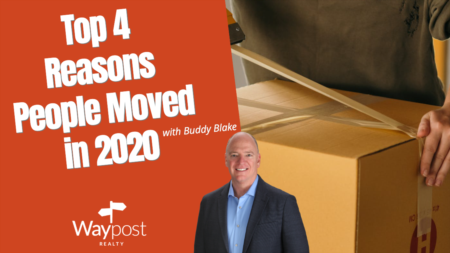 Top 4 Reasons People Moved in 2020