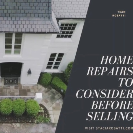 Home Repairs to Consider Before Selling Your Home
