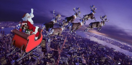 Track Santa's Christmas Eve Flight, All Around The World 2019
