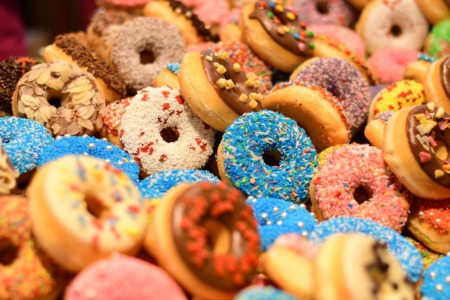 It's National Donut Day!  Satisfy that Sweet Tooth Today!