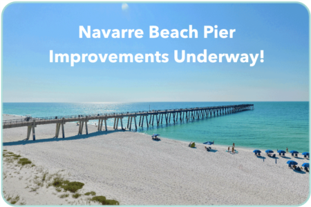 New Improvements Now Underway at the Navarre Beach Pier!