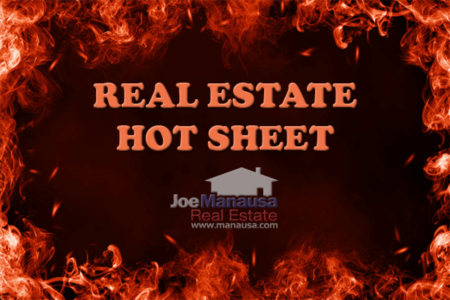 Here's Your Real Estate Hot Sheet