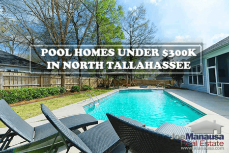 Can You Get A Home With A Pool UNDER $300K In North Tallahassee?