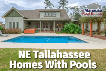 Cool NE Tallahassee Pool Homes Are Hot!