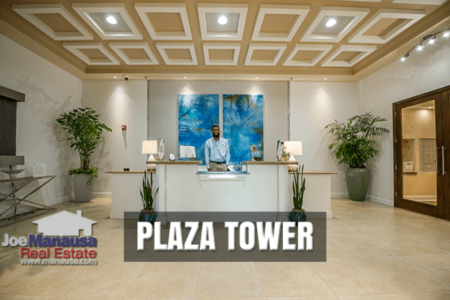 Plaza Tower Condominium Sales Report July 2020
