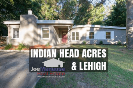 Indian Head Acres and Lehigh Home Sales July 2020
