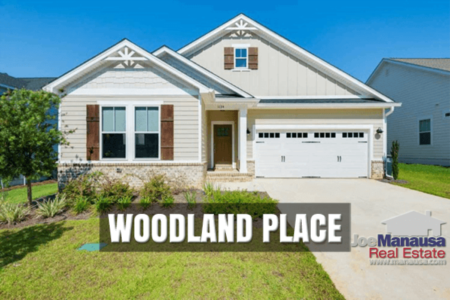 Woodland Place New Home Sales Report July 2020
