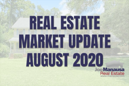 Home Sales Report August 2020