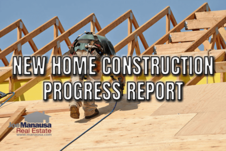 New Home Construction Progress Report Reveals Shortage