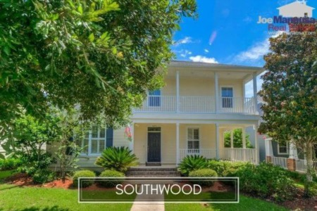 Southwood Home Sales Report November 2020