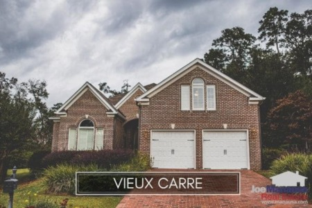 Vieux Carre Real Estate Market Report January 2021