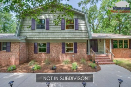 Homes for Sale in Tallahassee Outside of Subdivisions for February 2021