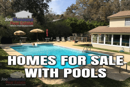 77 Homes For Sale With Swimming Pools Just In Time For Spring 2021
