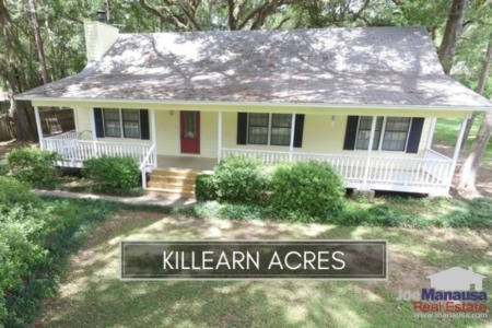Killearn Acres Real Estate Sales Report March 2021
