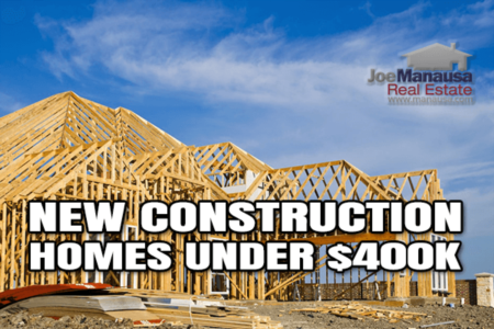 Where To Find New Construction For Sale (UNDER $400K)