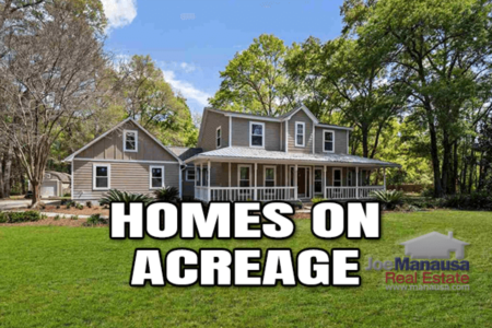Homes For Sale With Acreage May 2021