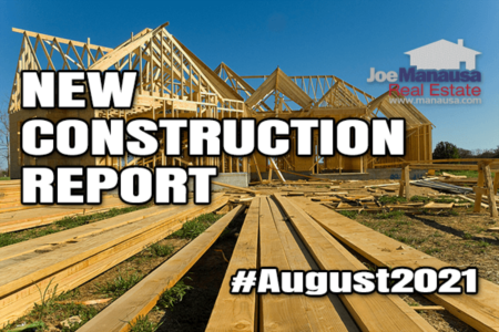 New Home Construction Report August 2021
