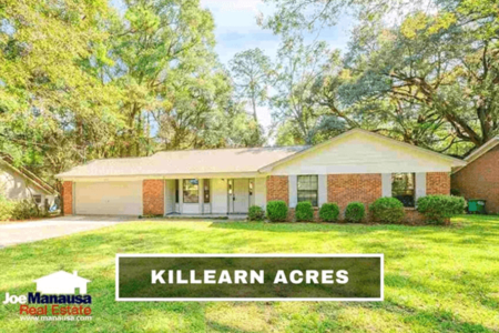 Killearn Acres Listings And Sales Report July 2021