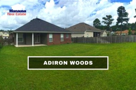 Adiron Woods Listings And Home Sales Report August 2021