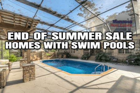 12 End-Of-Summer Homes For Sale With Swim Pools