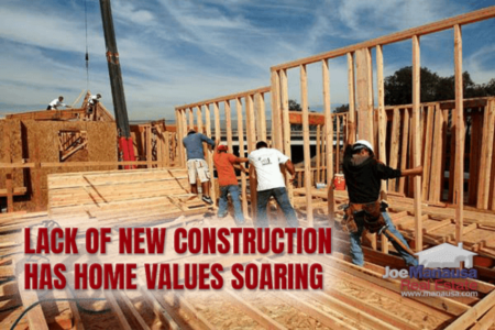 How New Home Construction Is Impacting Appreciation