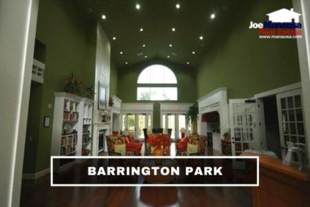 Barrington Park Condo Sales Report October 2021