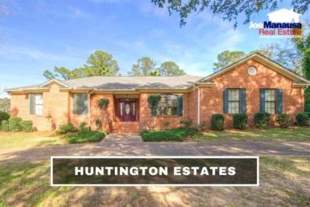 Huntington Estates Real Estate Sales Report October 2021