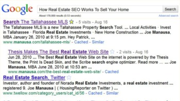 How Real Estate SEO Works To Sell Your Home