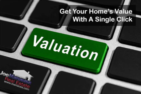 Just Click The Button To Get Your Home's Value