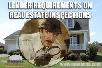 How Real Estate Inspections Are Viewed By Your Mortgage Lender