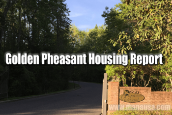 Golden Pheasant Home Sales Report April 2016