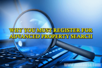 Why The Best Property Search Tools Require You To Create An Account