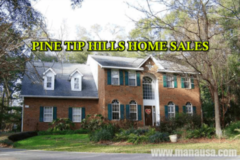 Pine Tip Hills Home Sales Report May 2016