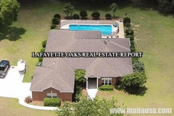Lafayette Oaks Real Estate Sales Report May 2016