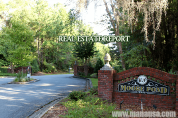 Moore Pond Listings And Home Sales Report July 2016