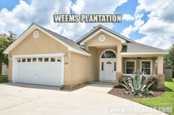 Weems Plantation Listings & Housing Report August 2016