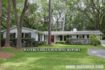 Waverly Hills Listings And Home Sales Report August 2016