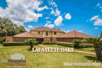 Lafayette Oaks Listings And Home Sales Report August 2016
