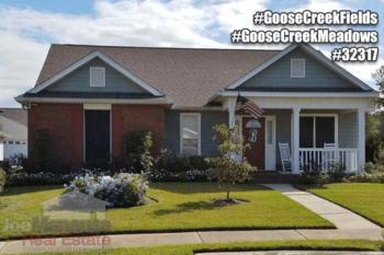 Goose Creek Listings & Home Sales Report November 2016