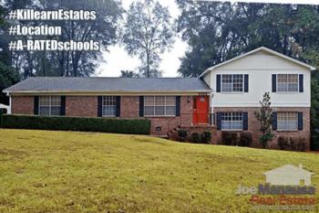 Killearn Estates Listings & Home Sales Report January 2017