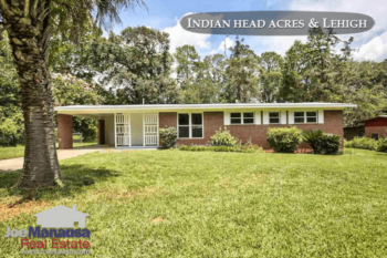 Indian Head Acres And Lehigh Homes For Sale August 2017