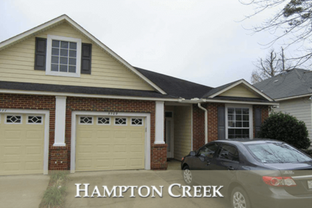Hampton Creek Listings And Home Sales Report January 2018